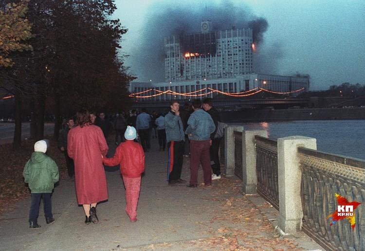 Двадцать три года назад наша страна стояла на грани гражданской войны