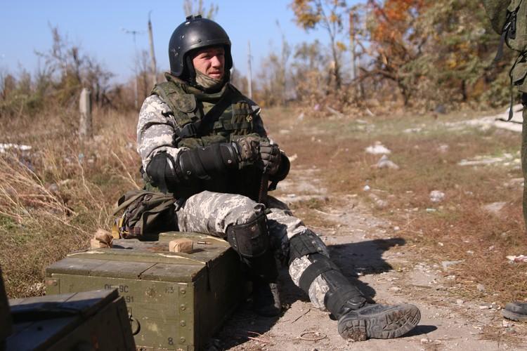 Командир подразделения «Спарта» «Моторола».