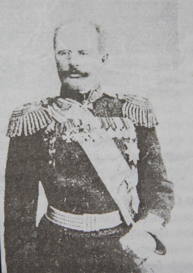 Михаил Ионов - первый начальник Ошского уезда, положивший начало союзу и дружбе народов.