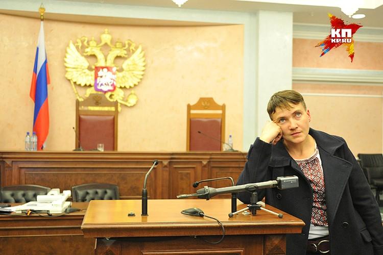 Депутат Верховной рады Украины Надежда Савченко.