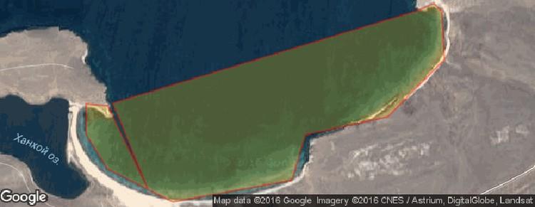 Тагайская бухта на карте.
