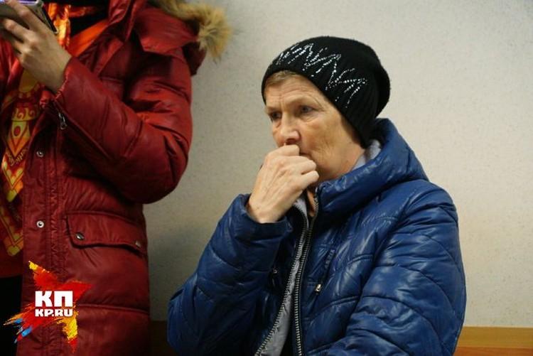 Мать Руслана Елена Борисовна впервые за полтора месяца смогла увидеть сына.
