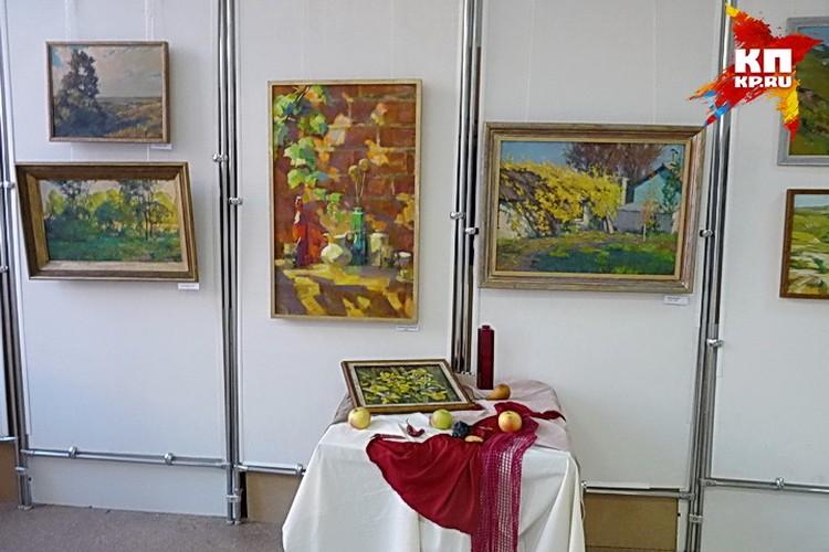 Выставка Максима Аникандрова.
