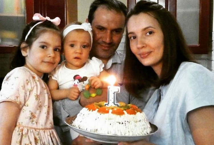Кире исполнился годик Фото: Семейный архив семьи БООС