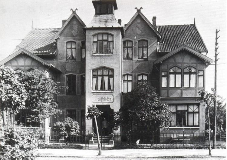 Так выглядел дом, в котором историк моды приобрел квартиры, в 1910 году