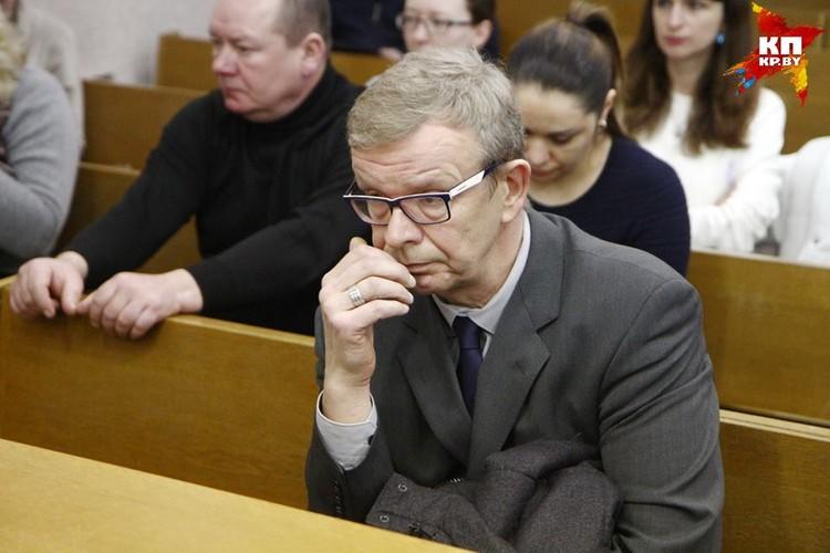 Томаш Забело прилетел на суд прямо из Варшавы.