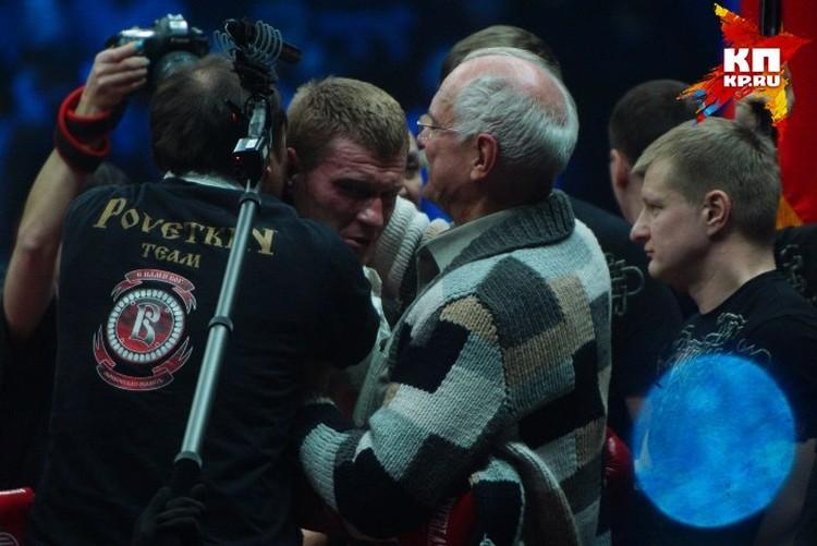 После экскурсии по музею Ельцина Михалков отправился на боксерский поединок с Александром Поветкиным