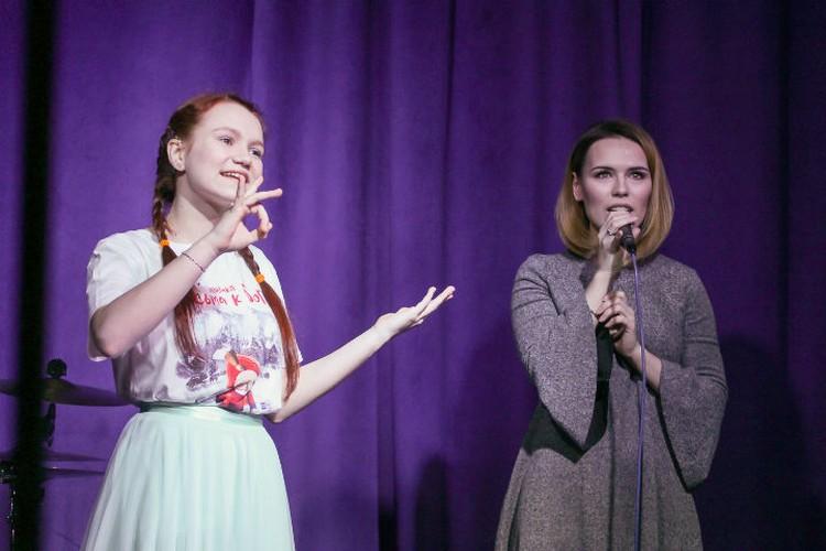 Вера Свешникова и Анастасия Морозова. Фото: Майя Жинкина.