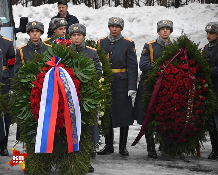 Россия простилась с Виталием Чуркиным