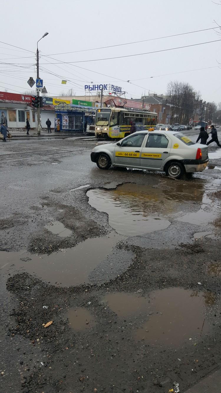 Улица Чкалова. Фото: Кирилл Андреев.
