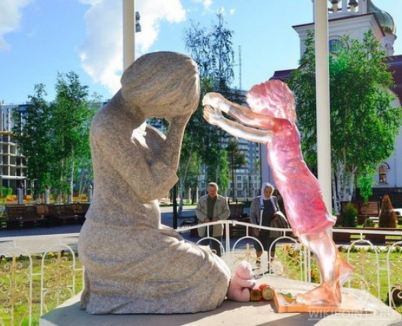 памятник нерожденным детям во всем мире фото можно