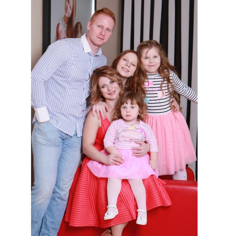 Юлия считает, что должна защитить свою семью. Фото: личный архив