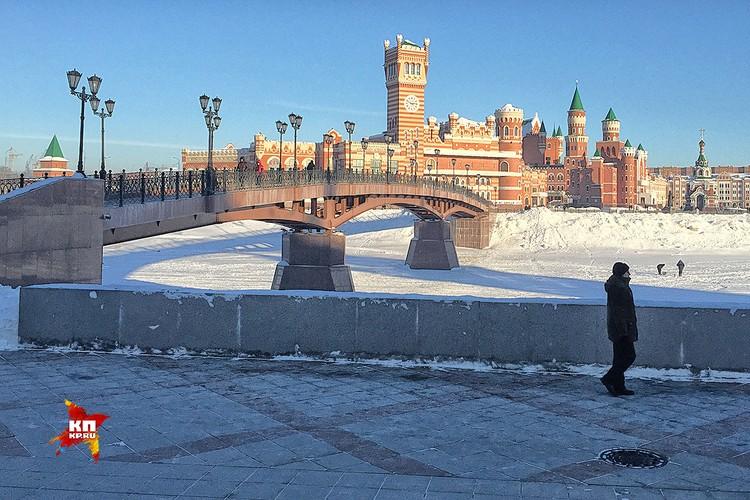 При Маркелове Йошкар-Ола прославилась на всю Россию своими архитектурными изысками.