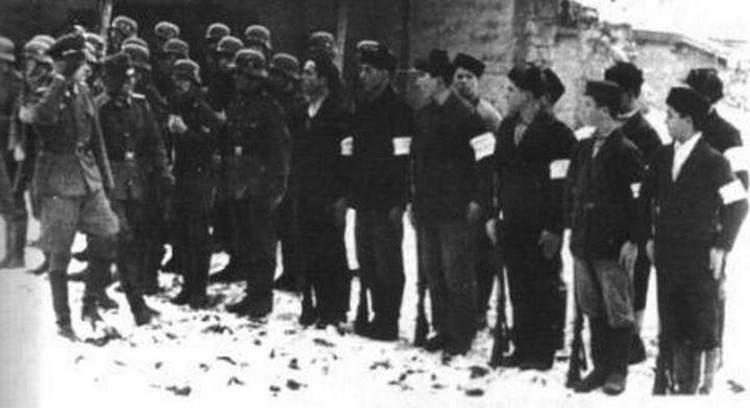 Пособники нацистов в Крыму. Фото: na-skryzhalyah.blogspot.com