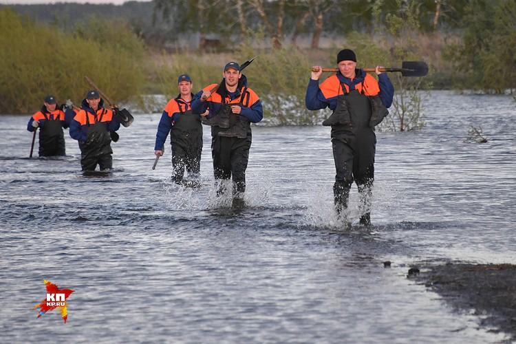 Вчера на помощь в Боково пришли спасатели