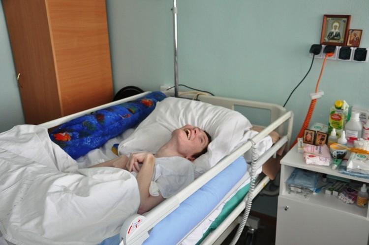 В новой больнице Ирина лежит в четырехместной палате.