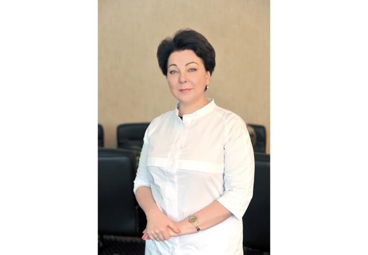 Главный врач ЛОКБ, к.м.н., заслуженный врач РФ Любовь Агафонова.