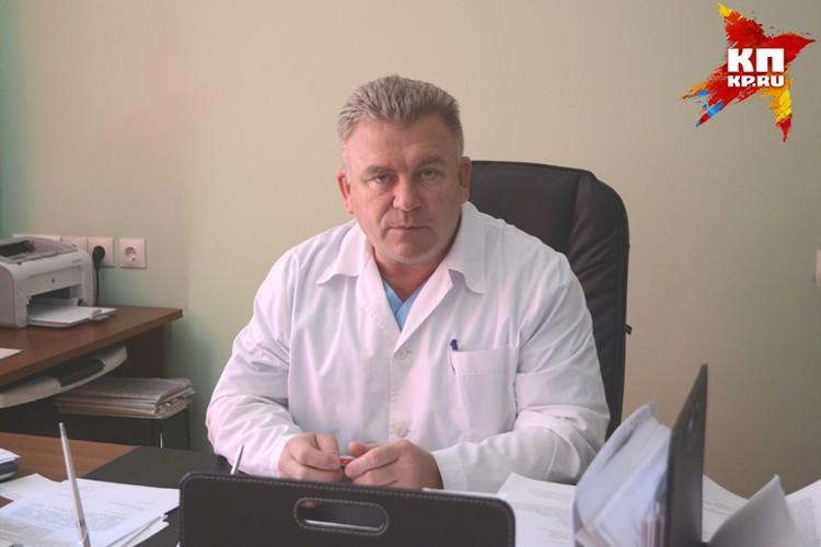 Заместитель главного врача по акушерству и гинекологии городской больницы № 1 Александр Кулаченко.