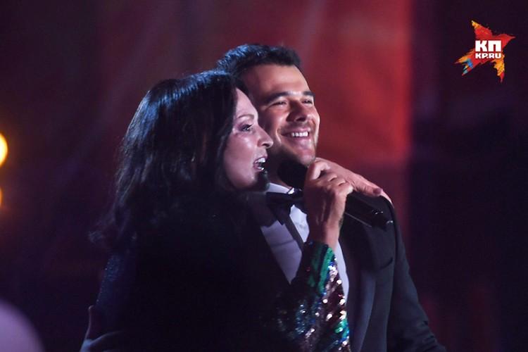 Эмин Агаларов сумел уговорить Софию Ротару выступить на фестивале в Баку