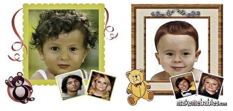 Компьютерная программа показала, как могут выглядеть дети Малахова.