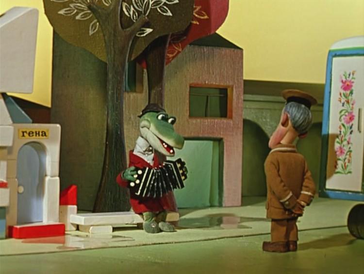 Декорации мультфильма художник срисовал с Минска своего детства. Фото: личный архив