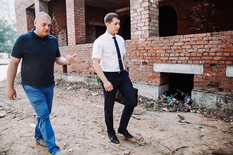 Отец и адвокат Ратибора Гоголева не раз осматривали предполагаемое место преступления
