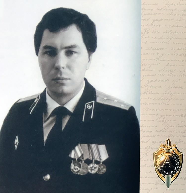 Полковник КГБ Михаил Васильевич Головатов в 1983 году командовал штурмовой группой, спасшей десятки заложников. ФОТО Личный архив