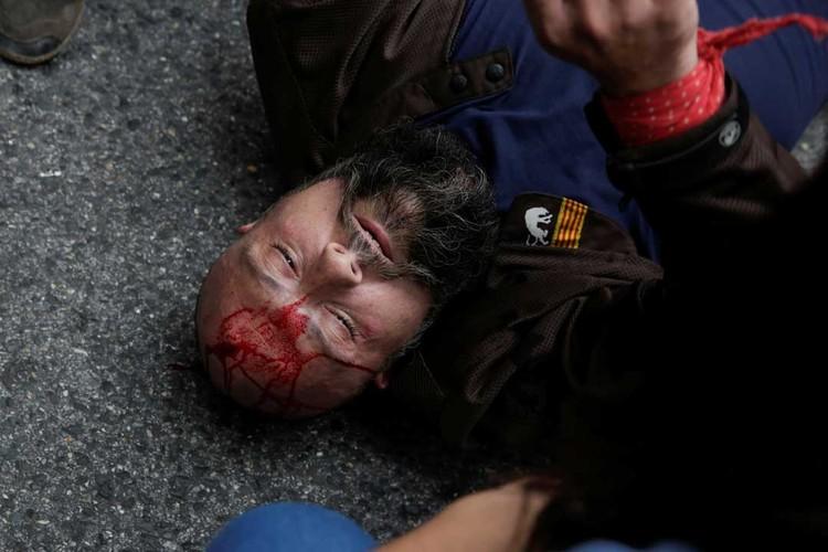 Люди жалуются на агрессивное поведение правоохранителей
