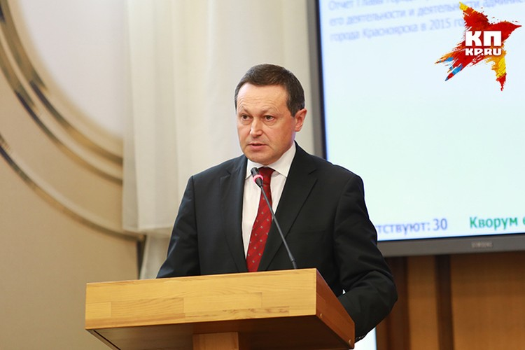 Эдхам Акбулатов, нынешний глава Красноярска, набрал 1729 баллов
