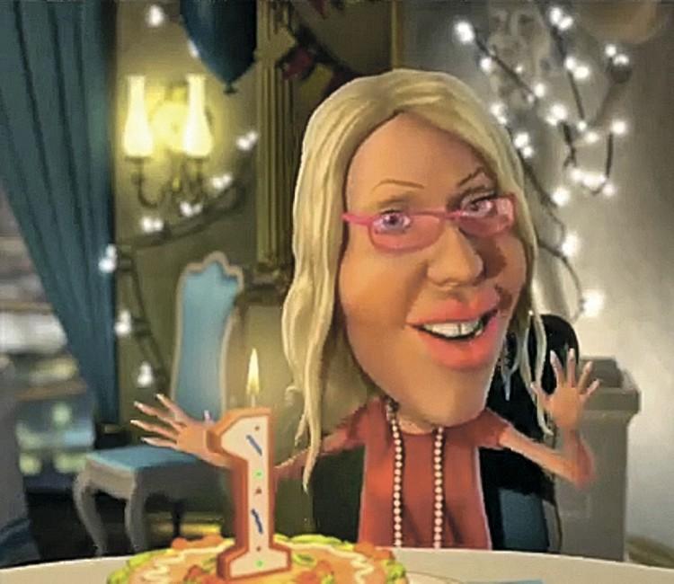 Собчак была яркой героиней популярной программы «Мульт личности», где позволяла себе смеяться над всем политическим истеблишментом. Теперь она сама стремится возглавить его? Фото: youtube.com, Первый канал