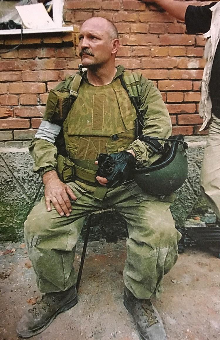 Виталий Демидкин 15 лет назад освобождал от террористов Театральный центр на Дубровке