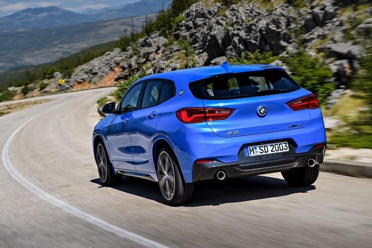 На первых порах BMW Х2 будет продаваться с двухлитровыми моторами