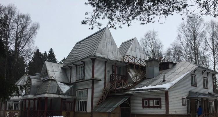 Дом Репина сгорел во время войны в 1944 году. Его восстановили по многочисленным фотографиям и воспоминаниям.