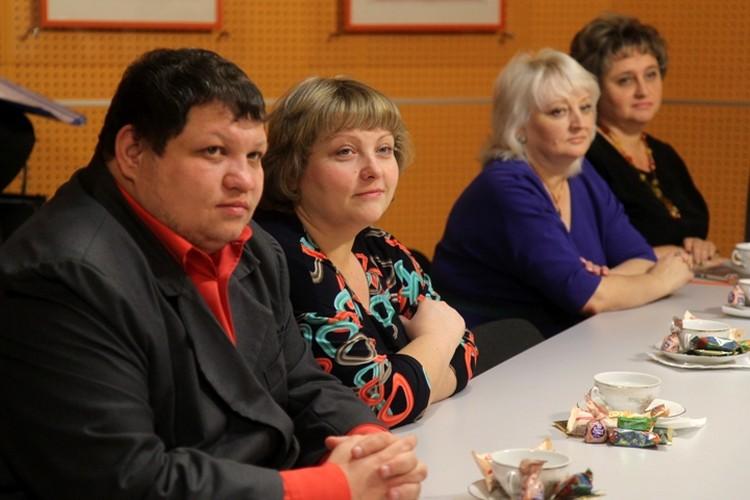 Наш призер Олег Михайлович Шарко вместе с супругой Анастасией Валерьевной. Она тоже учитель.