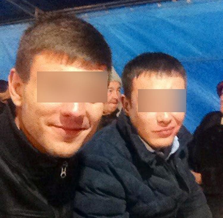 Руслан Н. (слева) с товарищем (справа), который также был задействован в схеме. Фото: соцсети