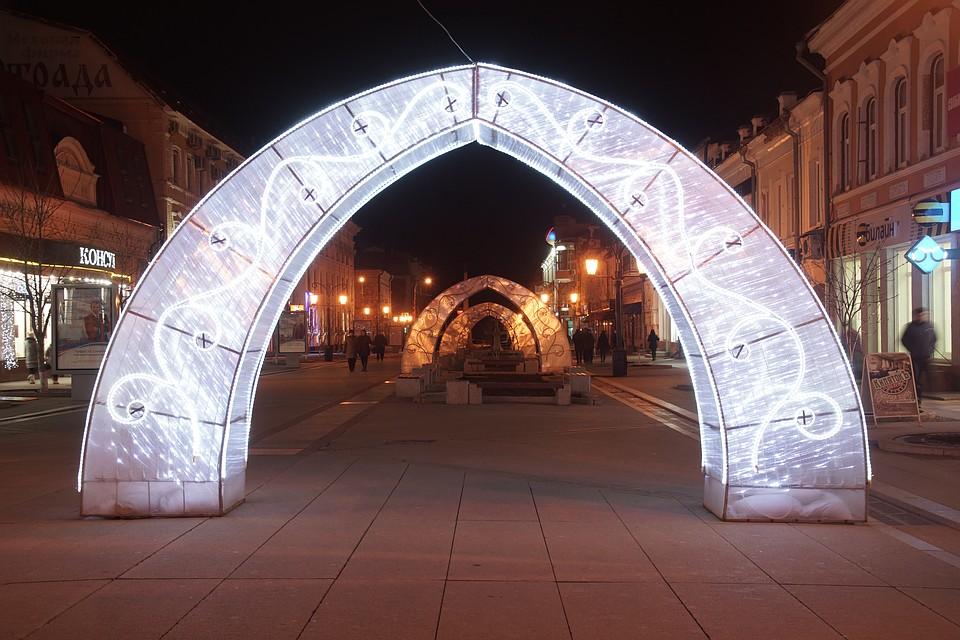 новогодняя арка картинка вниманию представлен