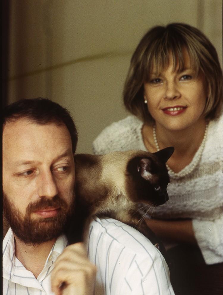 Татьяна Догилева с мужем Михаилом Мишиным