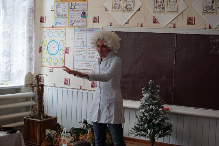 Снежок - Никита Макаренков входит в роль.