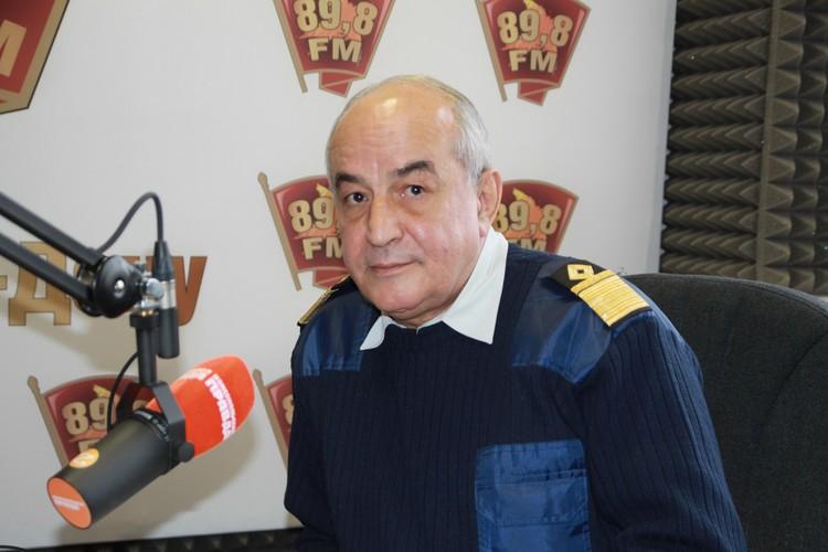 Александр Рубцов из Ростова-на-Дону — капитан дальнего плавания в отставке.