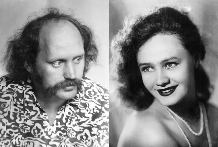 Владимир Мулявин и Лидия Кармальская были красивой талантливой парой. Фото: личный архив