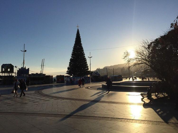 Больше всего туристов на Новой год и Рождество приехали в Ялту.