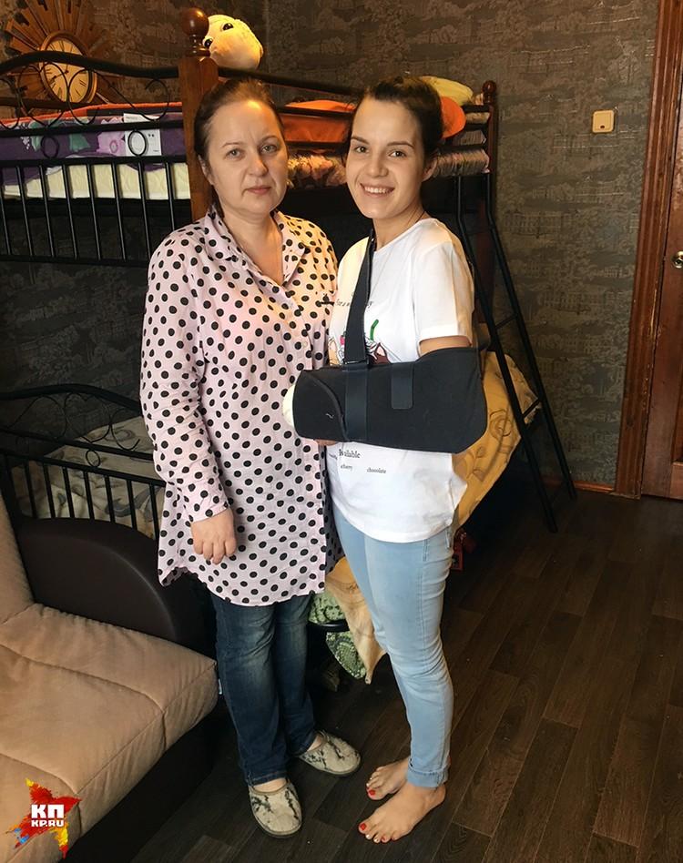 Рита с мамой