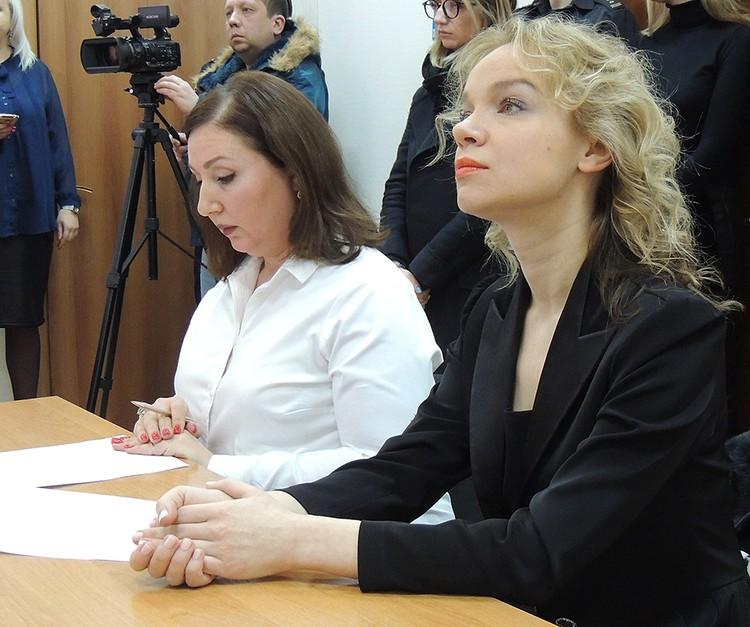 Виталина и ее адвокат Лариса Широкова сдаваться не собираются