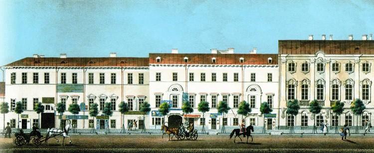 Дом на Невском проспекте, где в 1859 году жили братья Калиновские, не сохранился. В начале ХХ века на его месте появилось новое строение. Фото: архив Василя ГЕРАСИМЧИКА