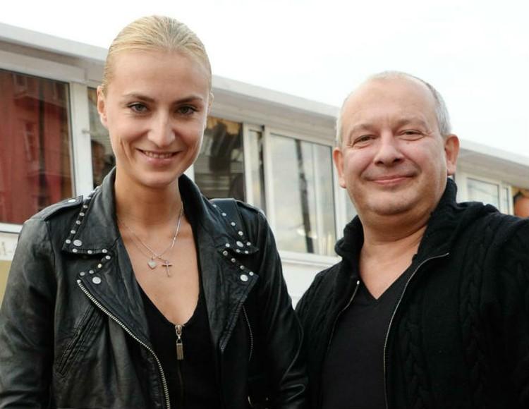 Архивное фото. Актер Дмитрий Марьянов с супругой Ксенией.
