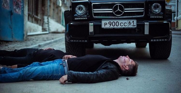 """В фильме будет много крови, эротики и боев без правил. Фото: группа Вконтакте """"О.П.Г. Художественный фильм""""."""