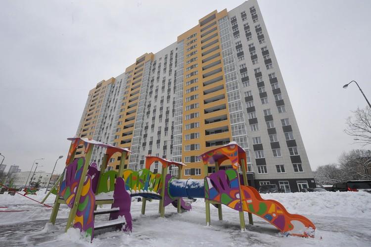 Новый 18-этажный монолитный дом на 340 квартир