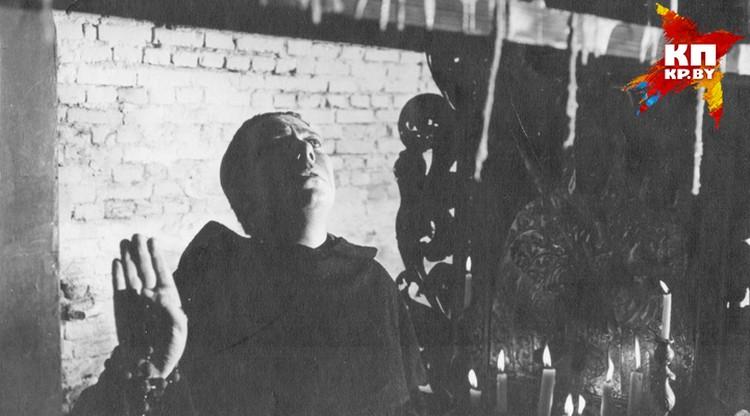 Вроде бы роль ксендза была эпизодической, но запоминающейся. Короткевич он и в кадре Короткевич! Фото: архив семьи Владимира Короткевича