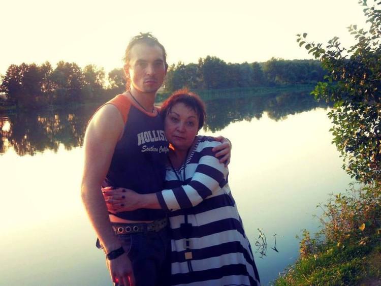 Игорь Тальков-младший с матерью Татьяной.