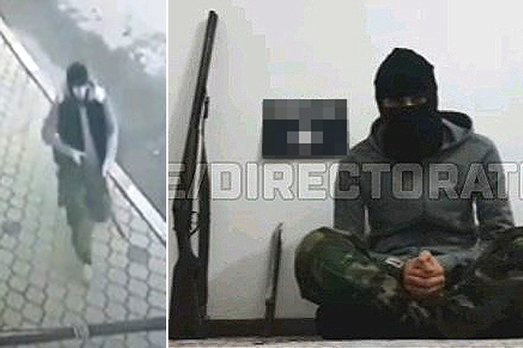 Перед нападением молодой человек записал видеобращение, в котором присягнул на верность ИГИЛ (организация запрещена в РФ).
